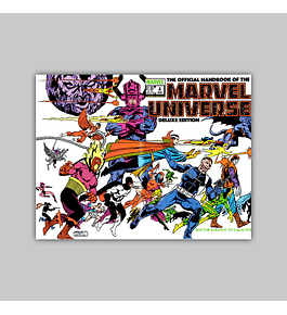 The Official Handbook of the Marvel Universe Deluxe Edition 4 1986