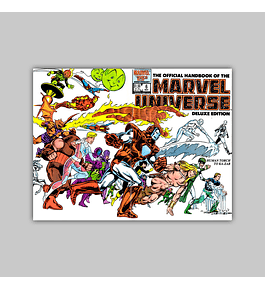The Official Handbook of the Marvel Universe Deluxe Edition 6 1986