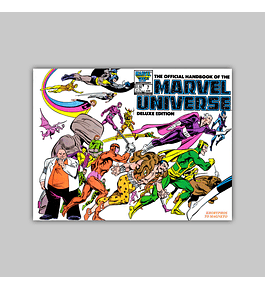 The Official Handbook of the Marvel Universe Deluxe Edition 7 1986