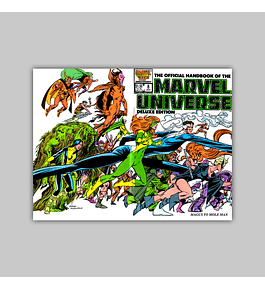 The Official Handbook of the Marvel Universe Deluxe Edition 8 1986