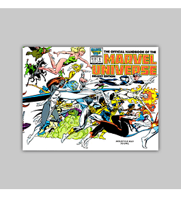 The Official Handbook of the Marvel Universe Deluxe Edition 9 1986