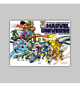 The Official Handbook of the Marvel Universe Deluxe Edition 10 1986
