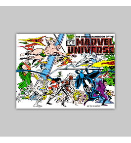 The Official Handbook of the Marvel Universe Deluxe Edition 12 1986