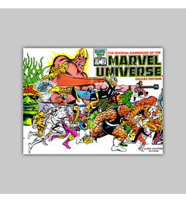 The Official Handbook of the Marvel Universe Deluxe Edition 13 1986