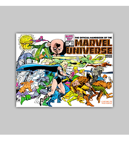 The Official Handbook of the Marvel Universe Deluxe Edition 14 1987