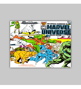 The Official Handbook of the Marvel Universe Deluxe Edition 15 1987