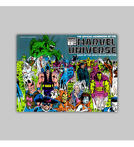 The Official Handbook of the Marvel Universe Deluxe Edition 17 1987