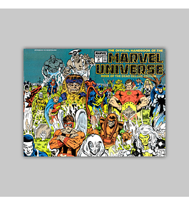 The Official Handbook of the Marvel Universe Deluxe Edition 18 1987