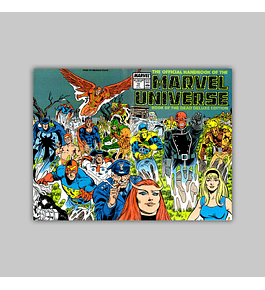 The Official Handbook of the Marvel Universe Deluxe Edition 19 1987