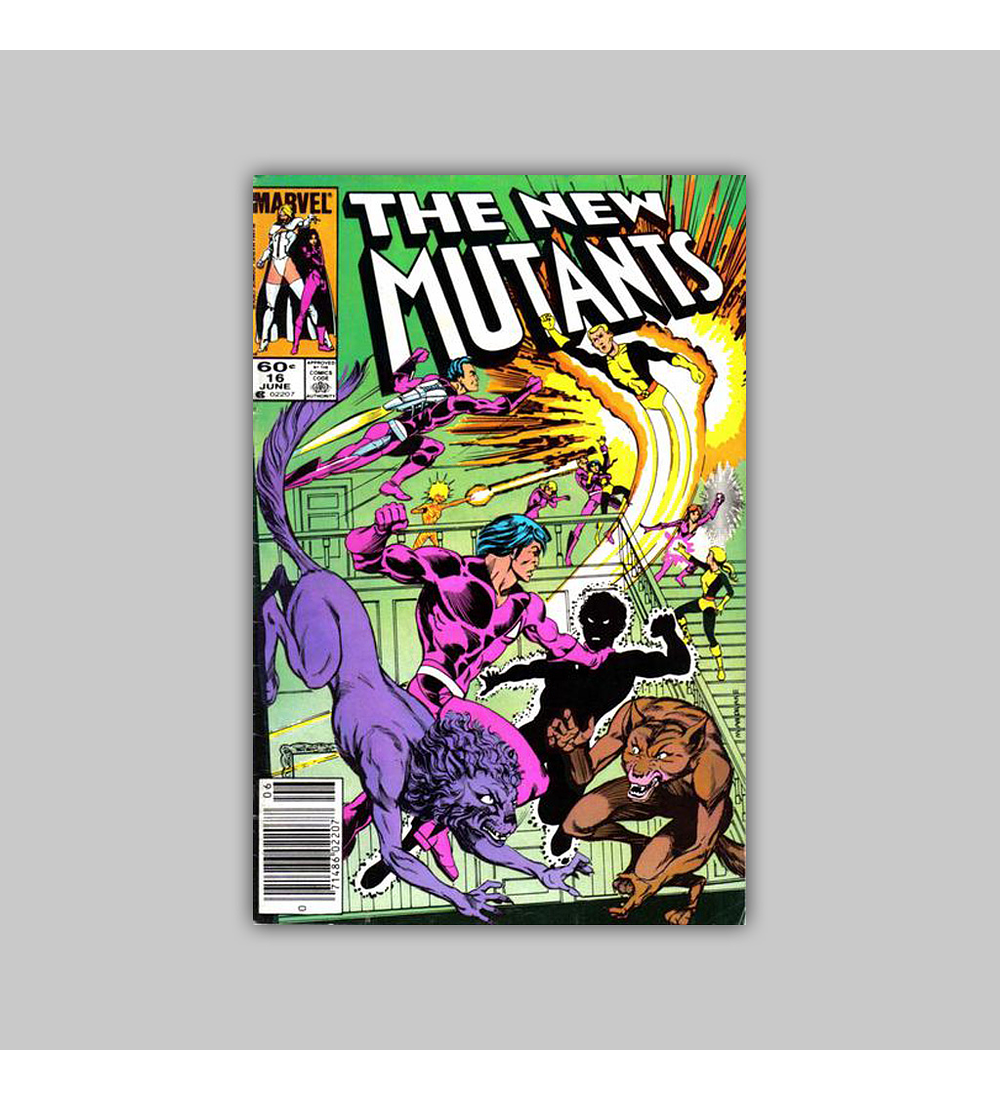 New Mutants 16 1984