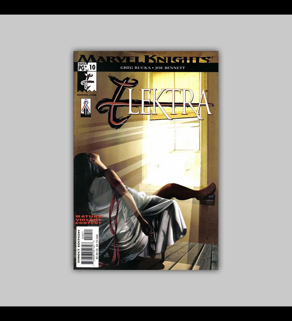 Elektra (Vol. 2) 10 2002