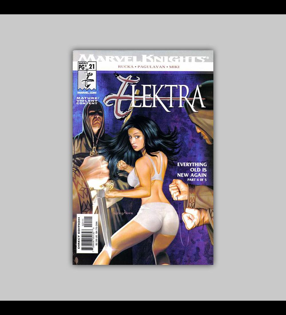 Elektra (Vol. 2) 21 2003