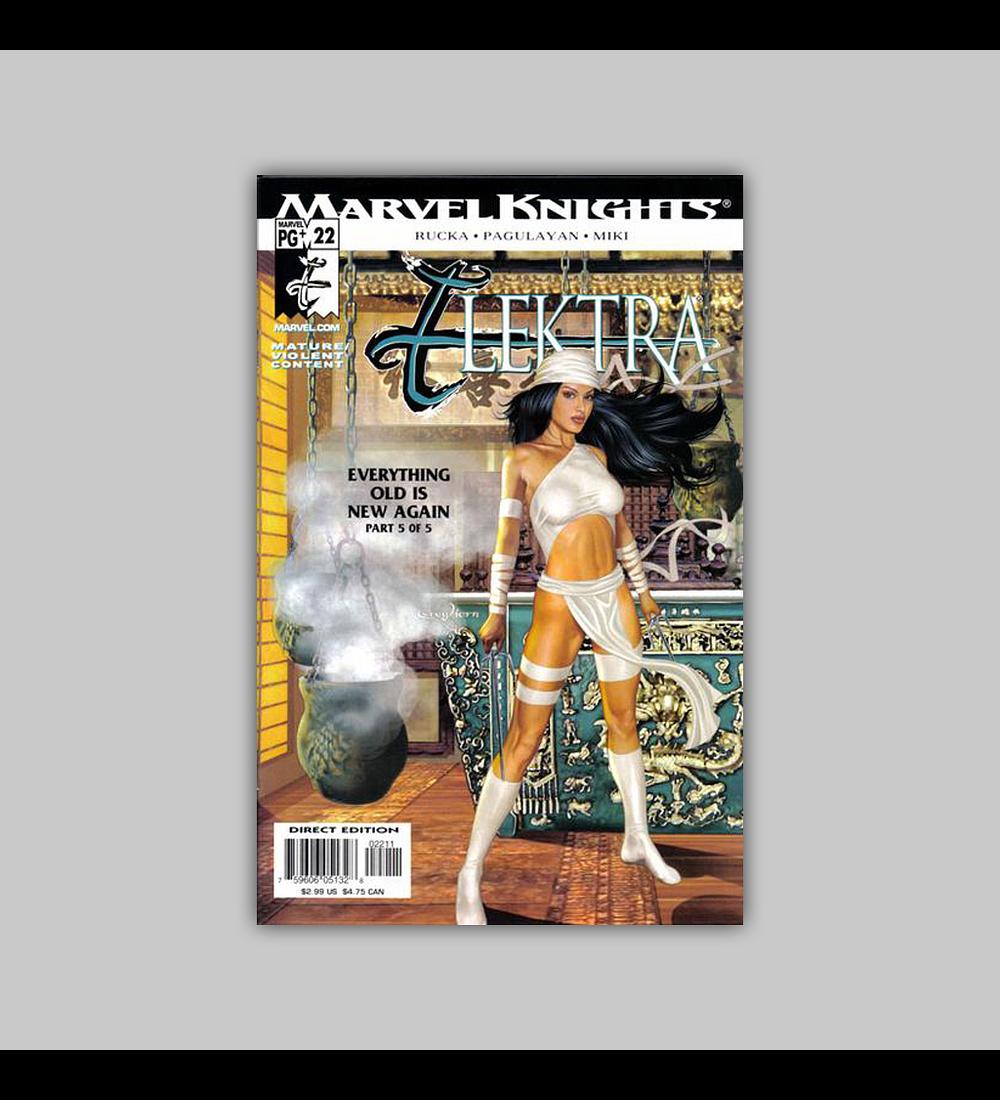 Elektra (Vol. 2) 22 2003