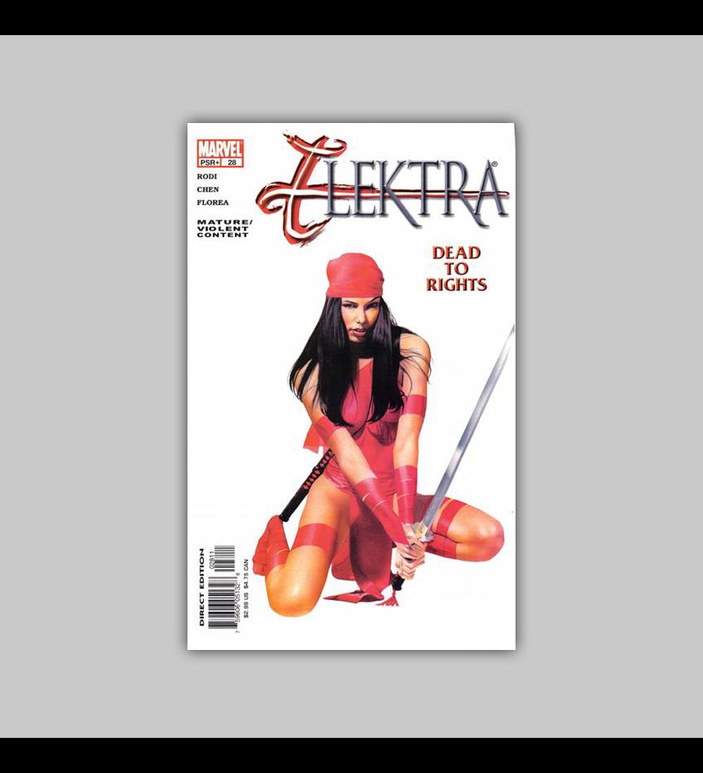 Elektra (Vol. 2) 28 2003