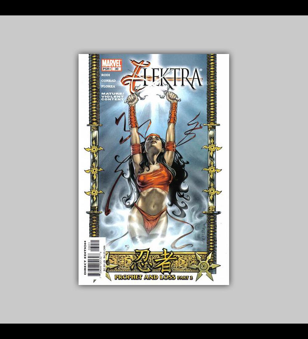 Elektra (Vol. 2) 30 2004