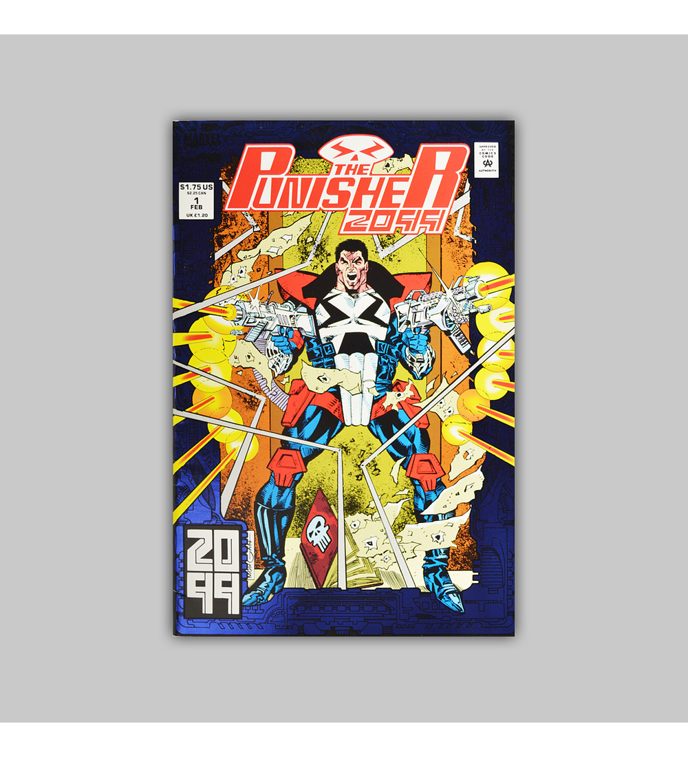 The Punisher 2099 1 Foil 1993