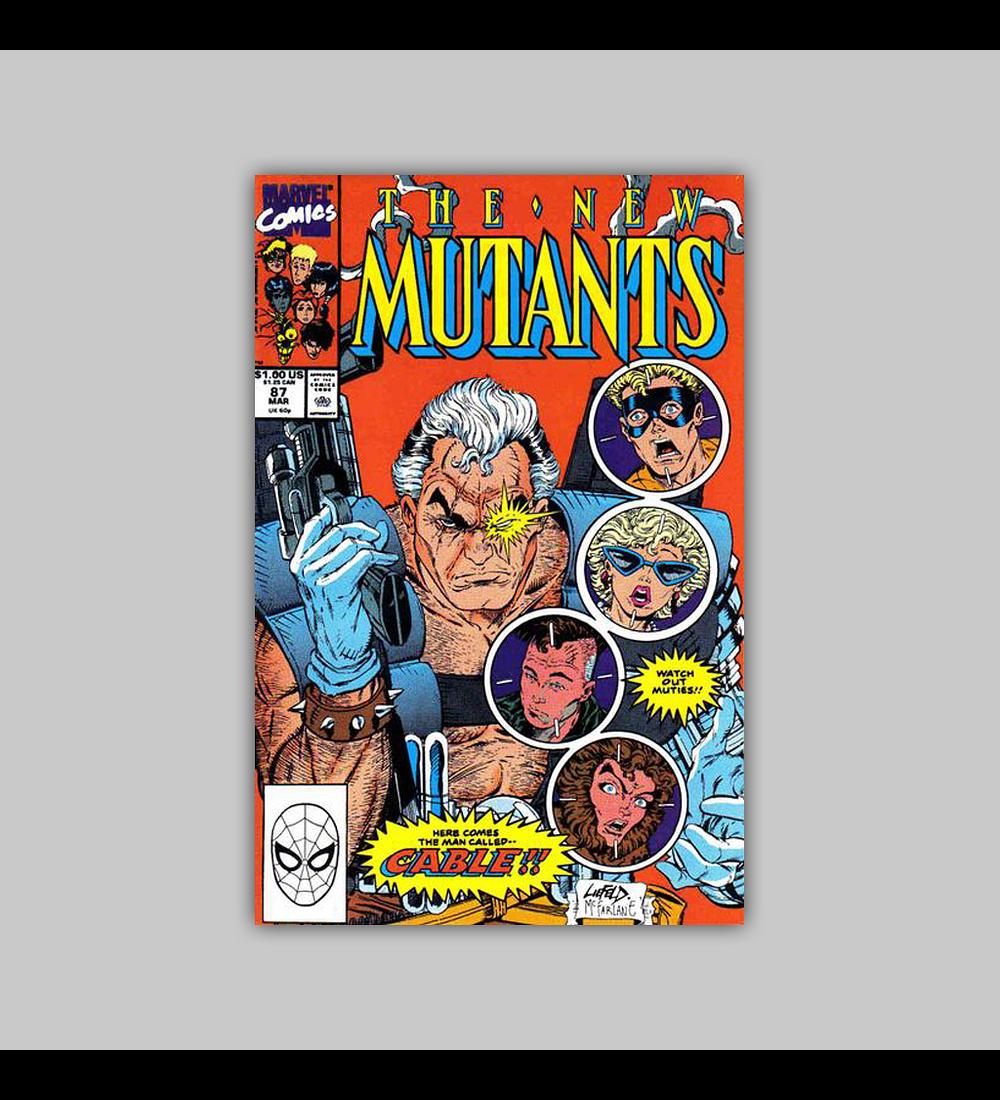 New Mutants 87 1990