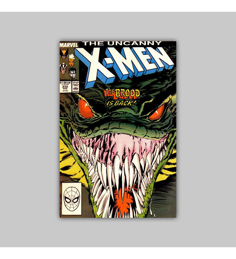 Uncanny X-Men 232 1988