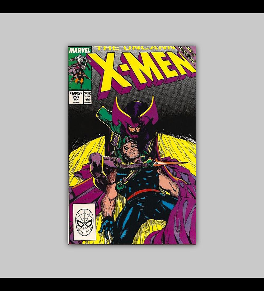Uncanny X-Men 257 1990