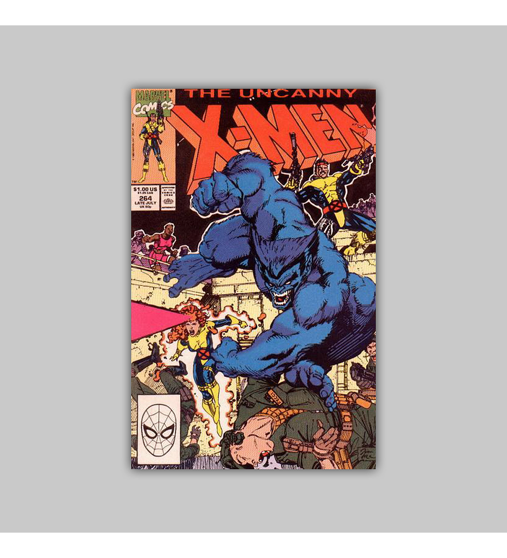 Uncanny X-Men 264 1990