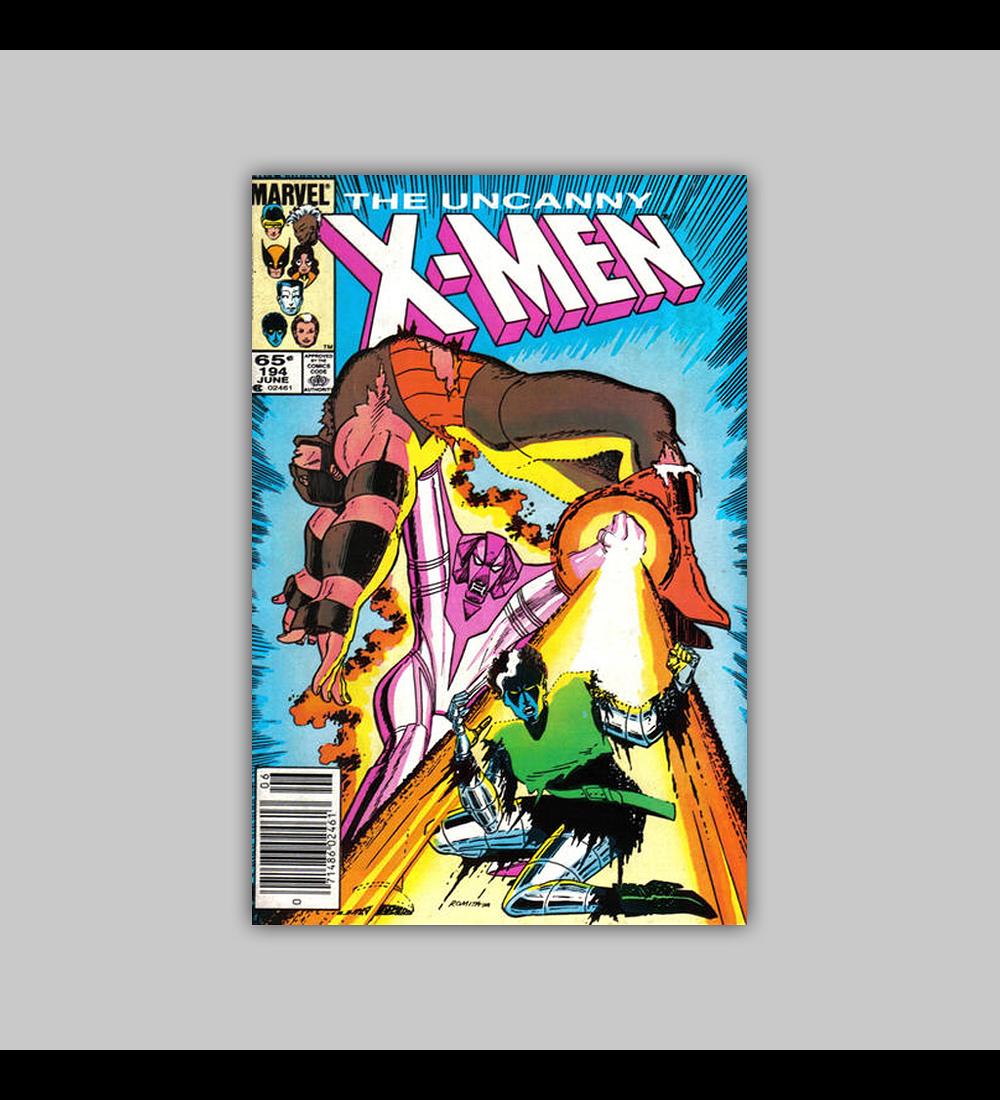 Uncanny X-Men 194 1985