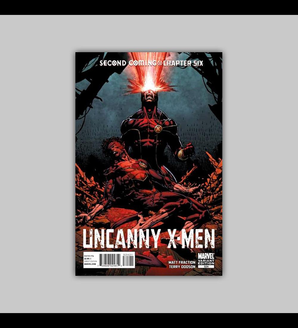 Uncanny X-Men 524 B 2010