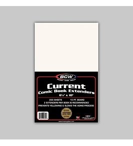 Current Comic Book Extenders (200)