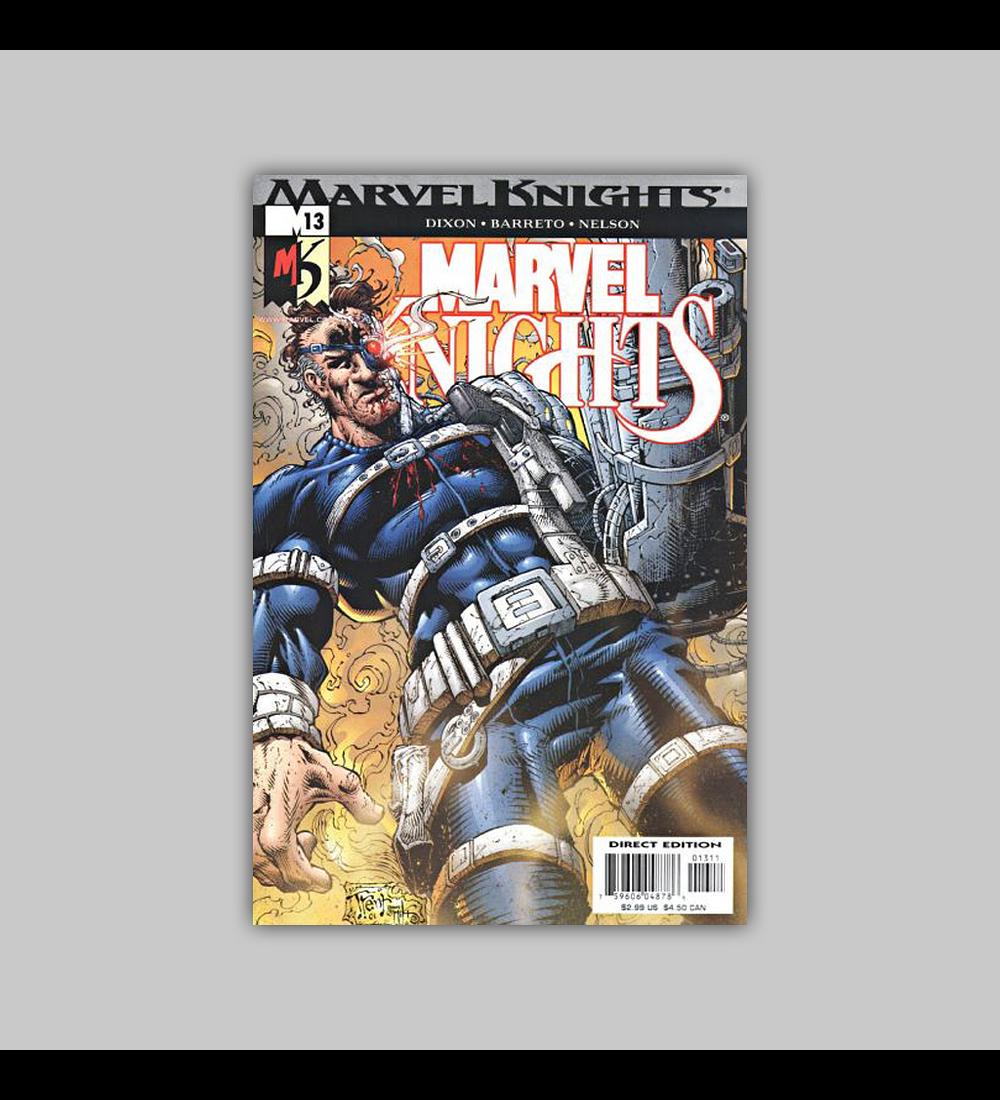 Marvel Knights 13 2001