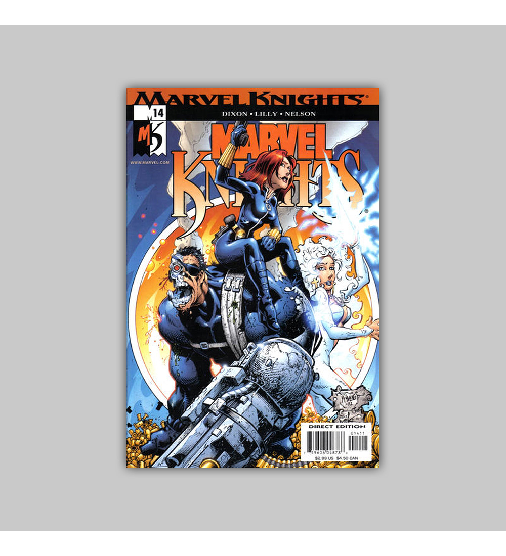 Marvel Knights 14 2001