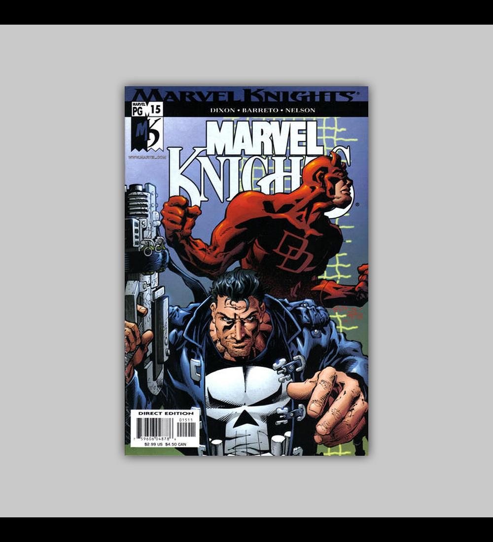Marvel Knights 15 2001