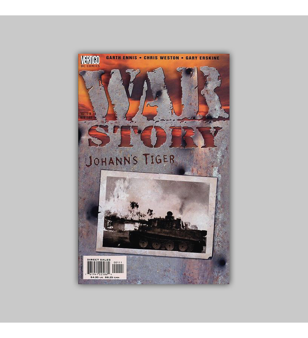 War Story: Johann's Tiger 2001