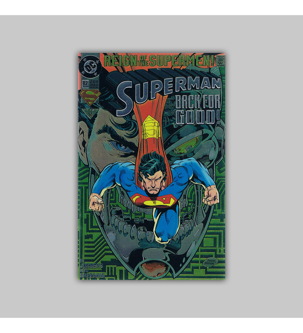Superman (Vol. 2) 82 Foil 1993