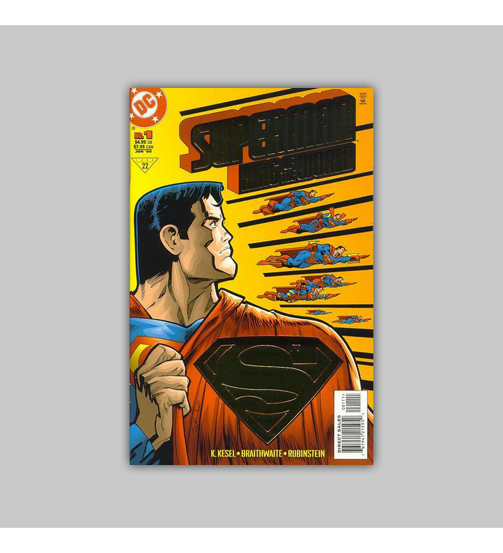 Superman: King of the World Gold foil