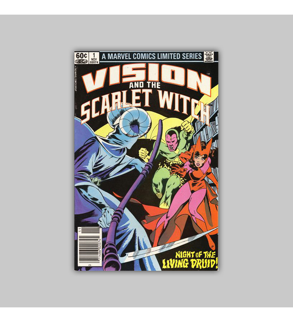 The Vision and the Scarlet Witch 1 1982