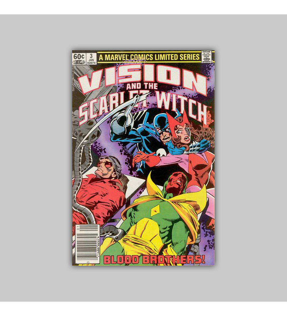 The Vision and the Scarlet Witch 3 1983