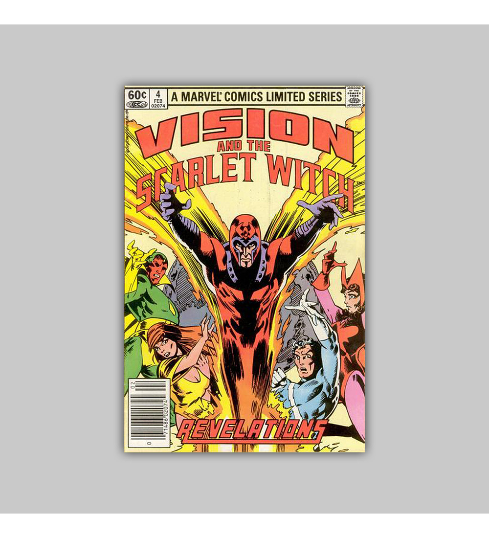The Vision and the Scarlet Witch 4 1983