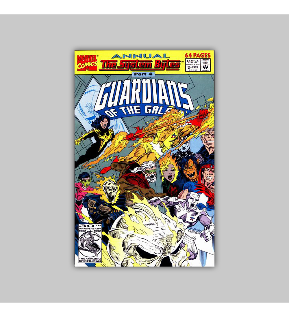 Guardians of the Galaxy Annual 2 1992