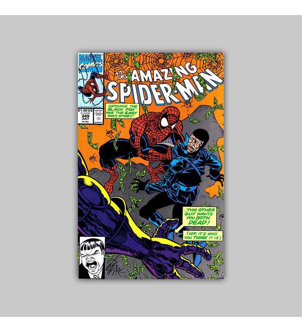Amazing Spider-Man 349 1991