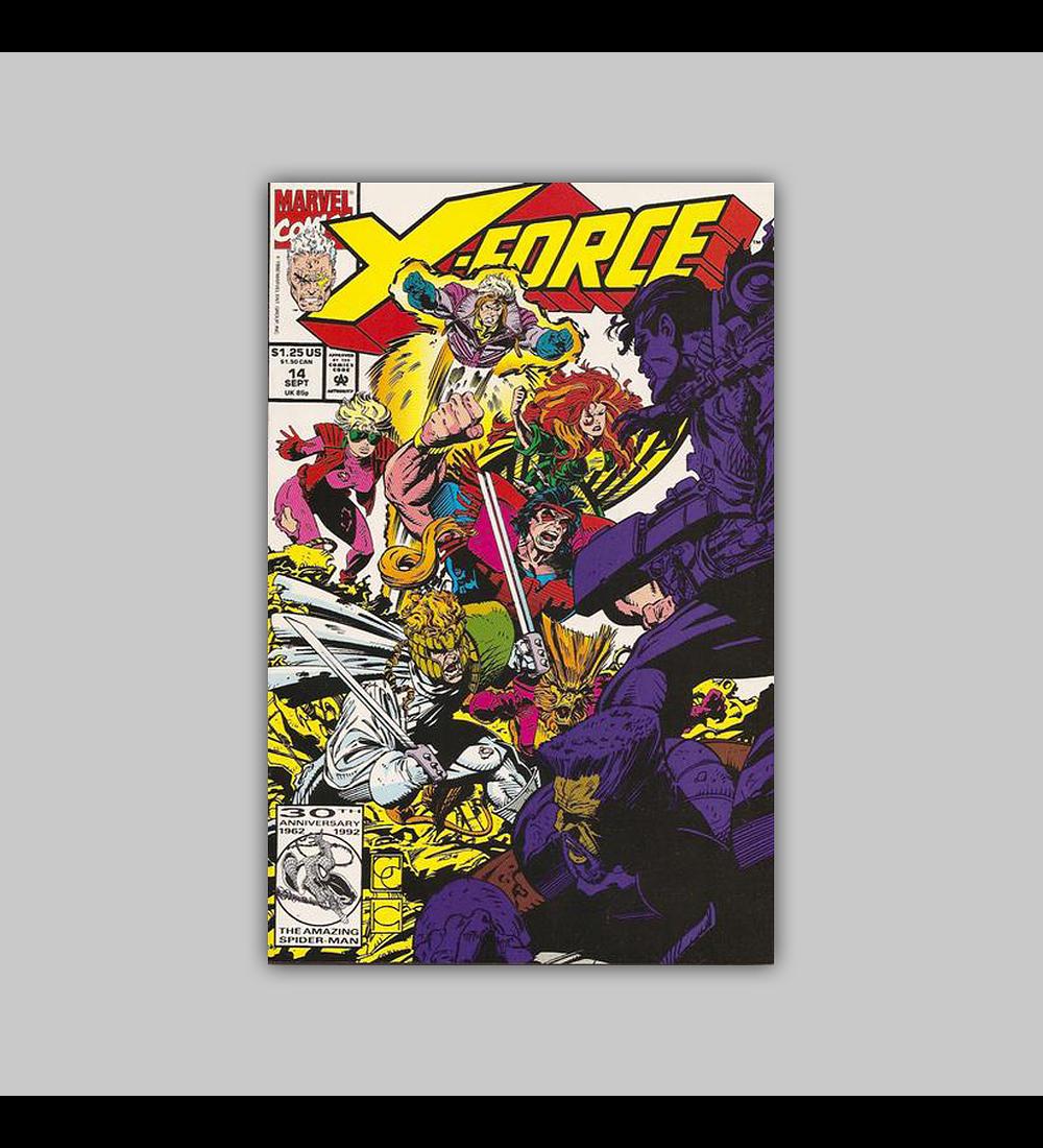 X-Force 14 1992