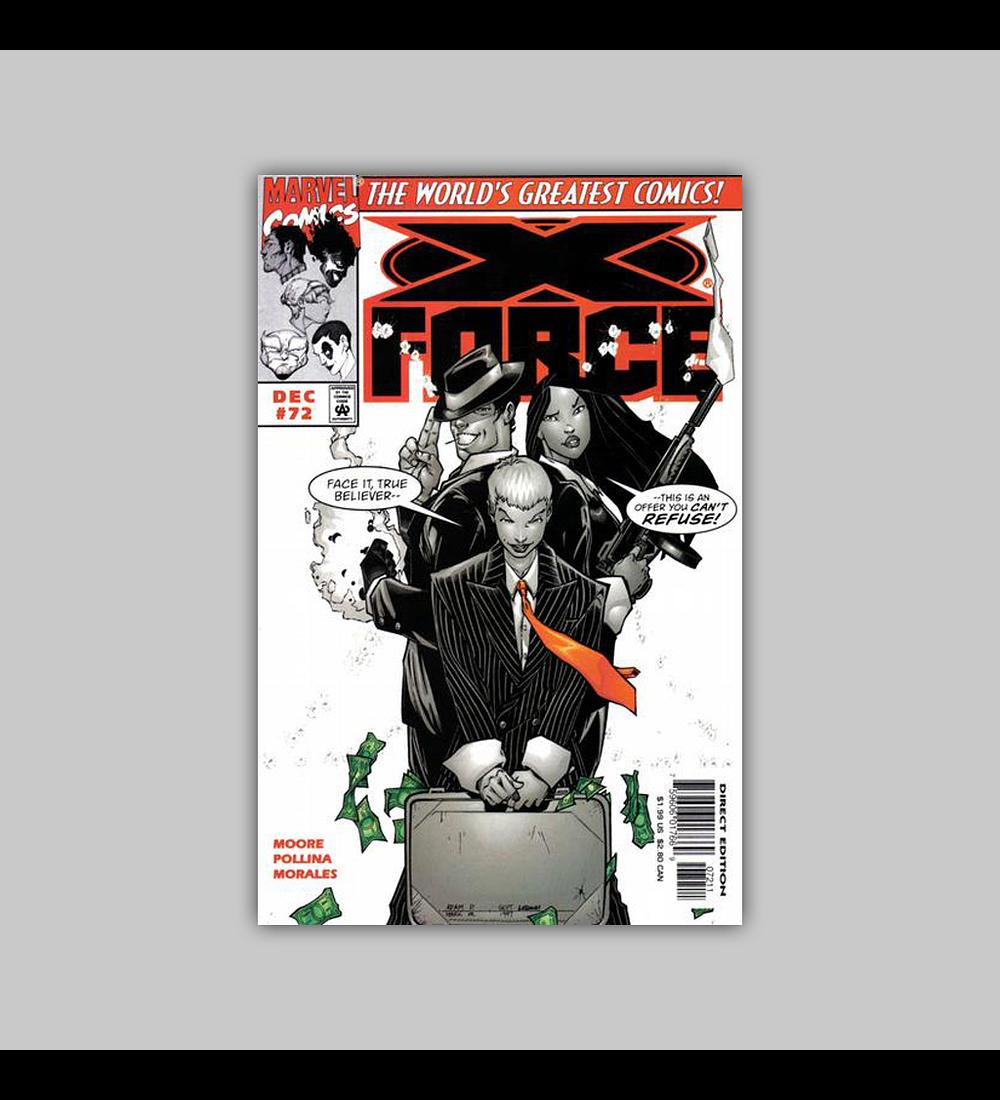 X-Force 72 1997