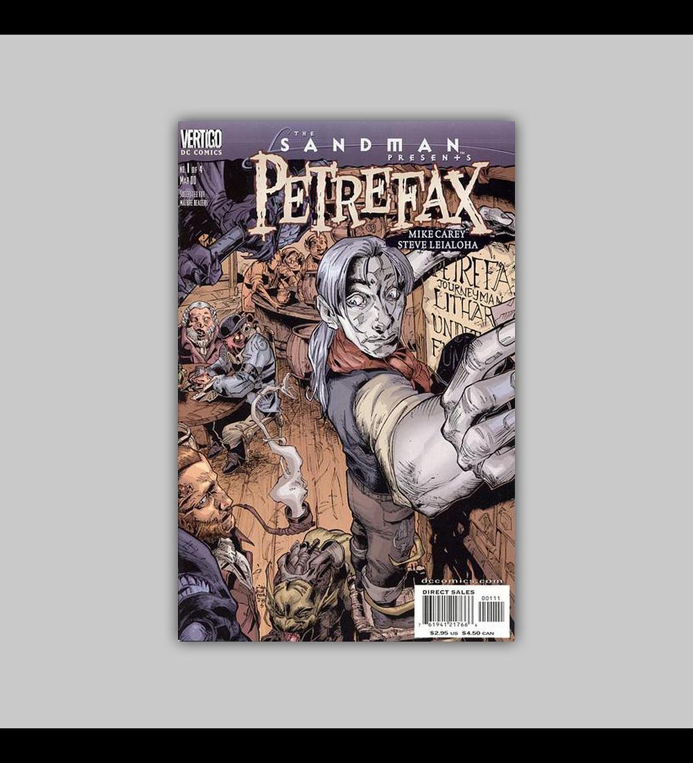 Sandman Presents: Petrefax 1 2000