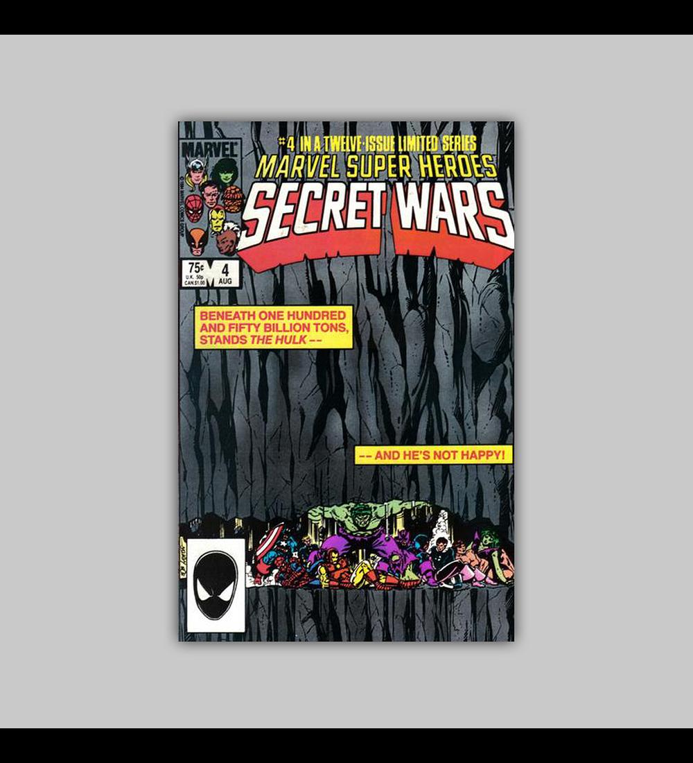 Marvel Super-Heroes: Secret Wars 4 1984