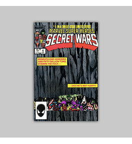 Marvel Super-Heroes: Secret Wars 4 1984