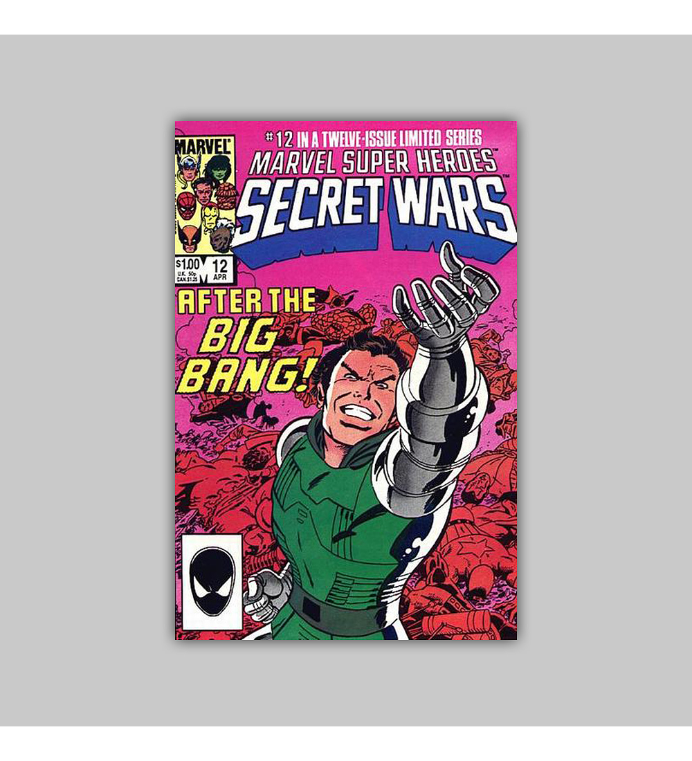 Marvel Super-Heroes: Secret Wars 12 1985