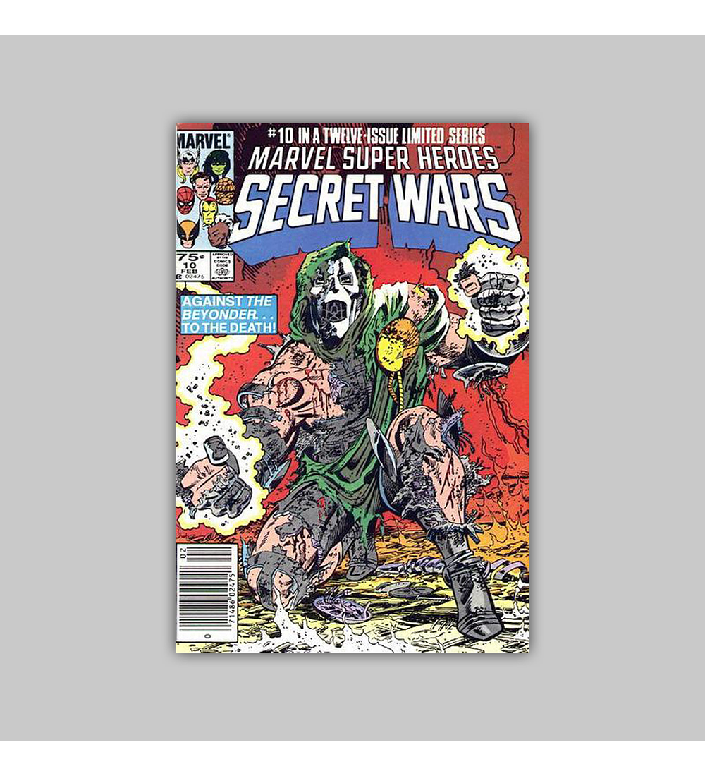 Marvel Super-Heroes: Secret Wars 10 1985