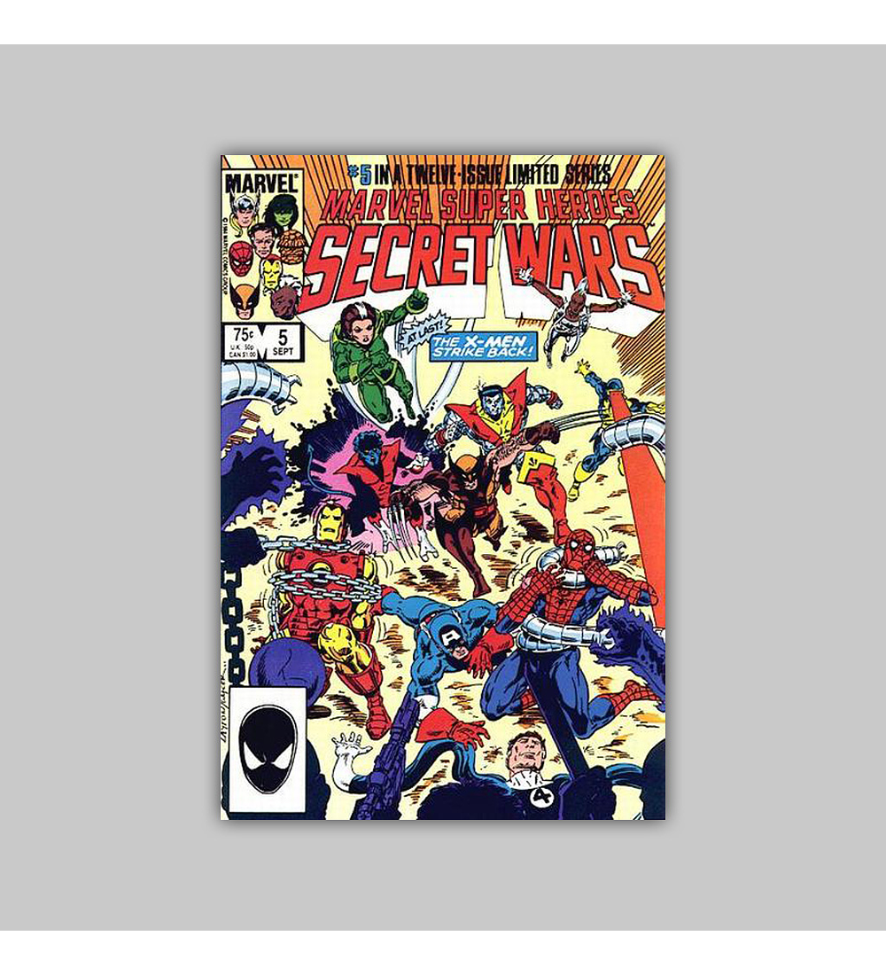 Marvel Super-Heroes: Secret Wars 5 1984