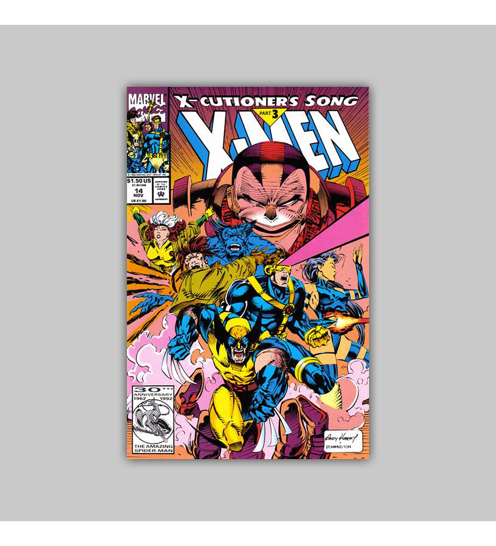 X-Men 14 1992