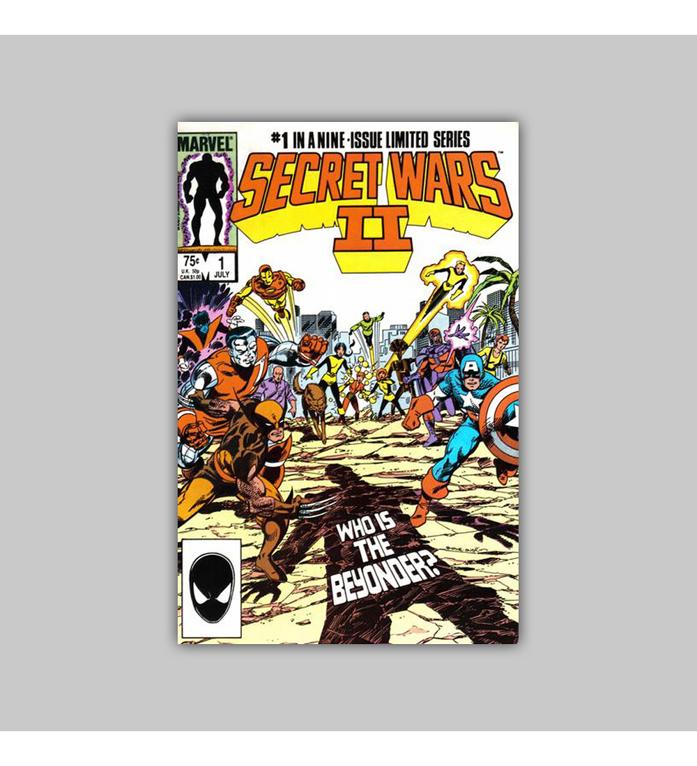 Secret Wars II 1 1985
