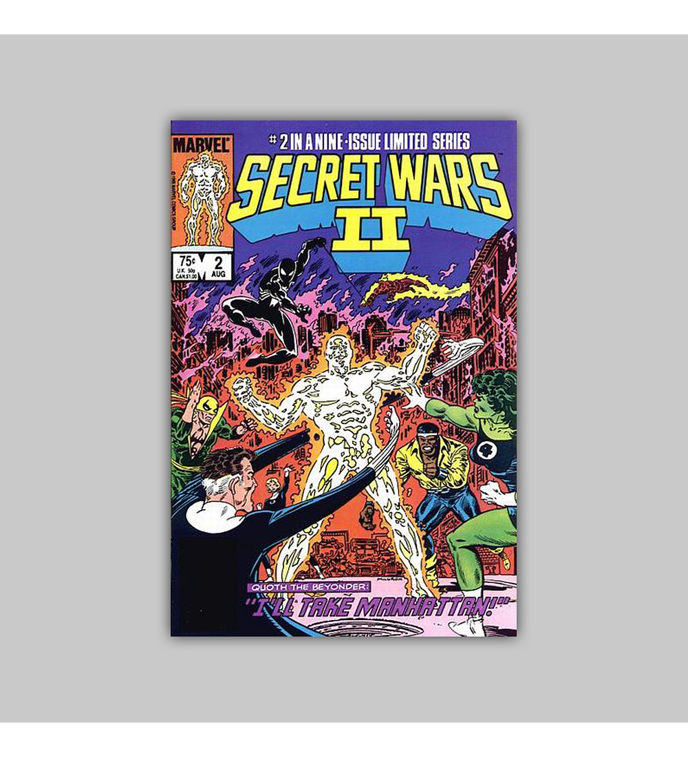 Secret Wars II 2 1985
