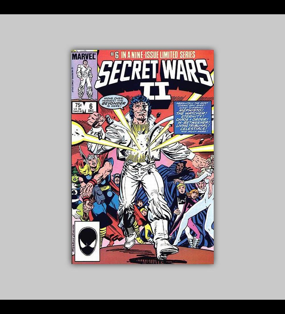 Secret Wars II 6 1985